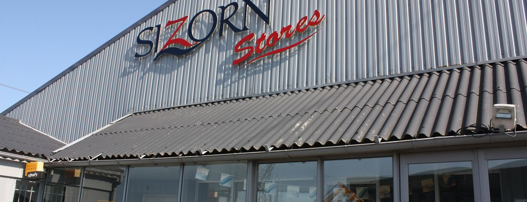 devanture Sizorn Stores