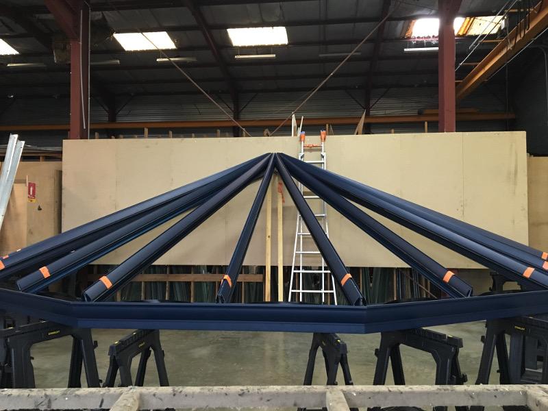 fabrication toiture de véranda Alu Glace 2