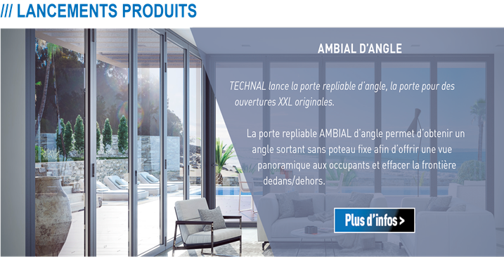 Portes d'angle Ambial