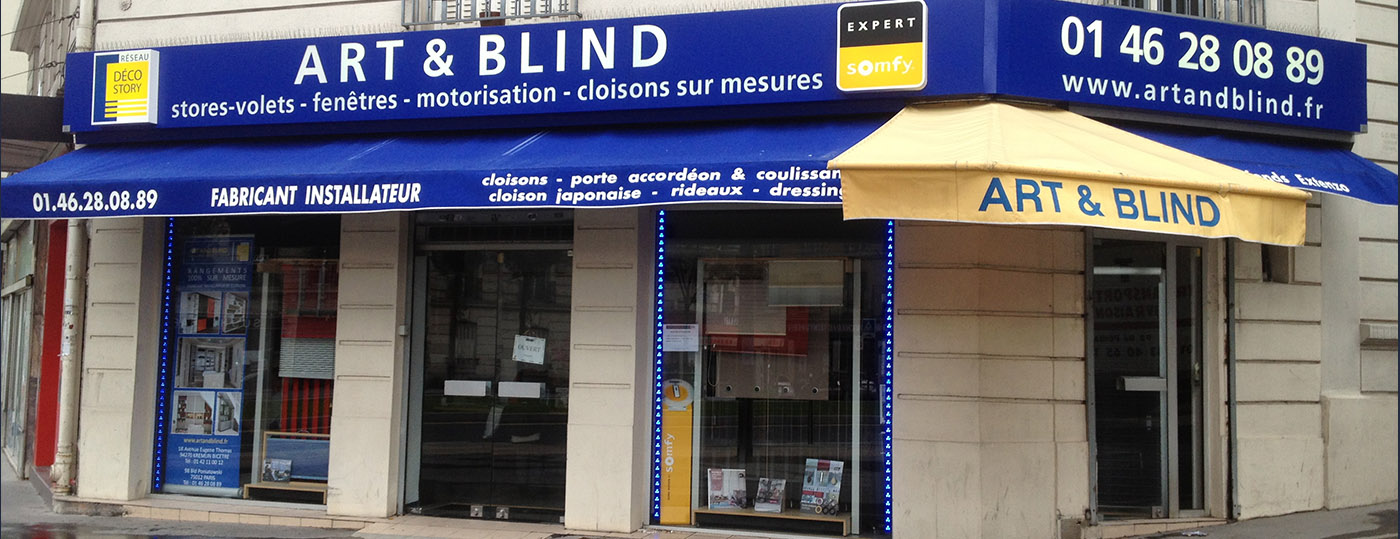 Art and Blind magasin de Paris