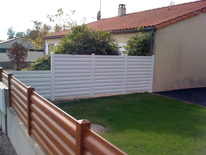 réalisation clôture PVC MC Loizeau
