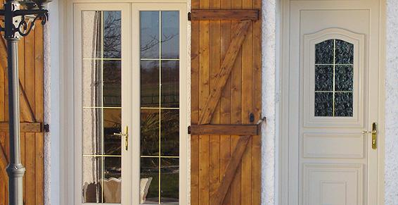 réalisation fenêtre et porte d'entrée alu Bourgoin Mt