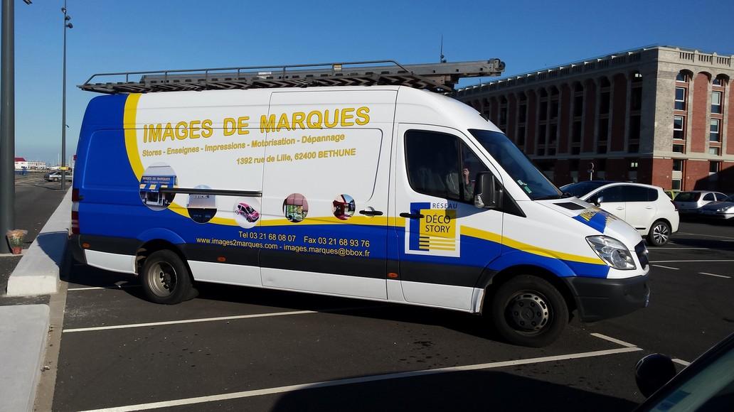 réalisation Lettrage véhicule Images de Marques 3