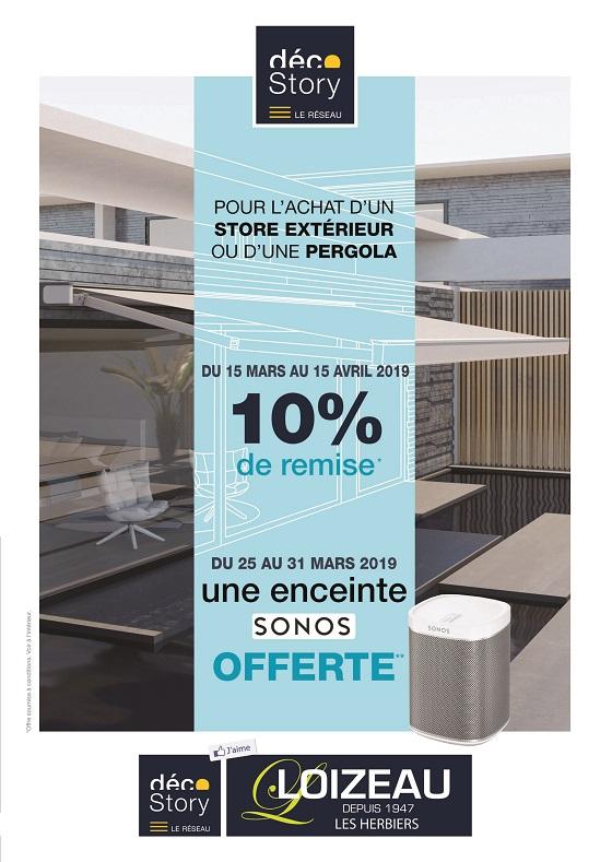 Opération sur les Stores extérieurs et Pergolas