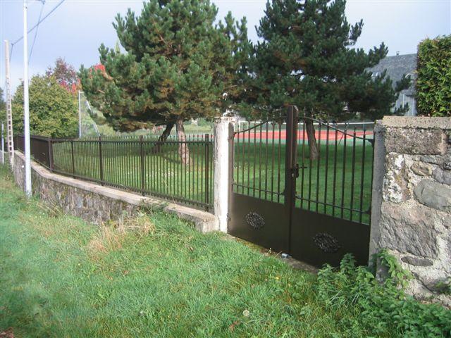réalisation portail et clôture Miroiterie Laumond