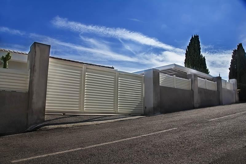 réalisation Portail coulissant et clôture Ouvre Elec