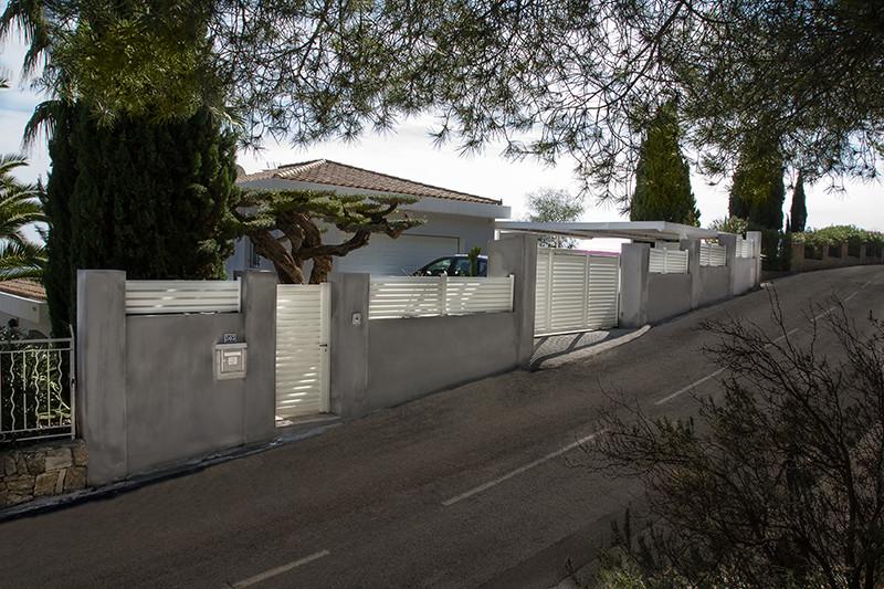 réalisation Portail coulissant, portillon et clôture Ouvre Elec