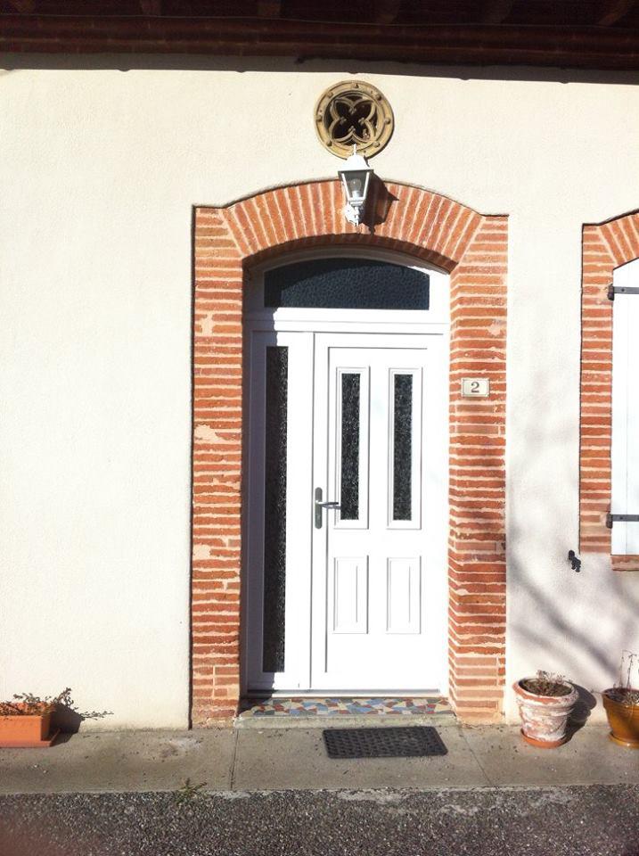 réalisation Porte d entrée DOMO 31