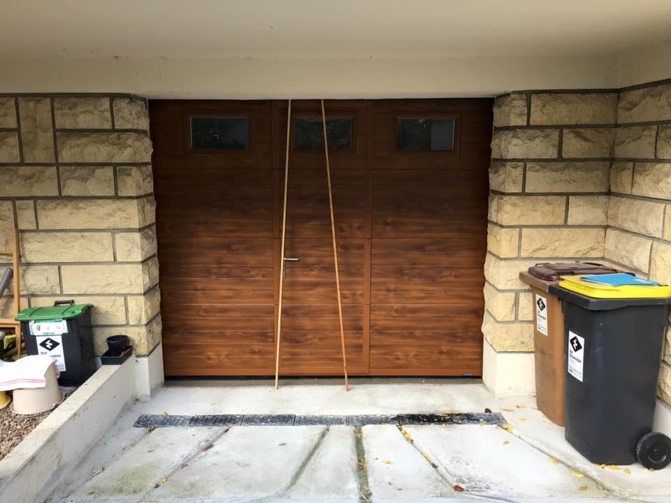 réalisation Porte de garage Easy Matik
