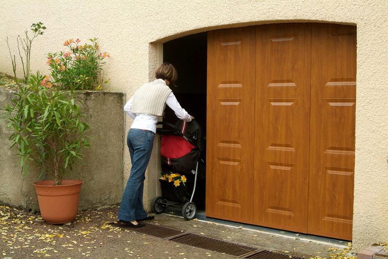 réalisation Porte de garage latérale Iso Store