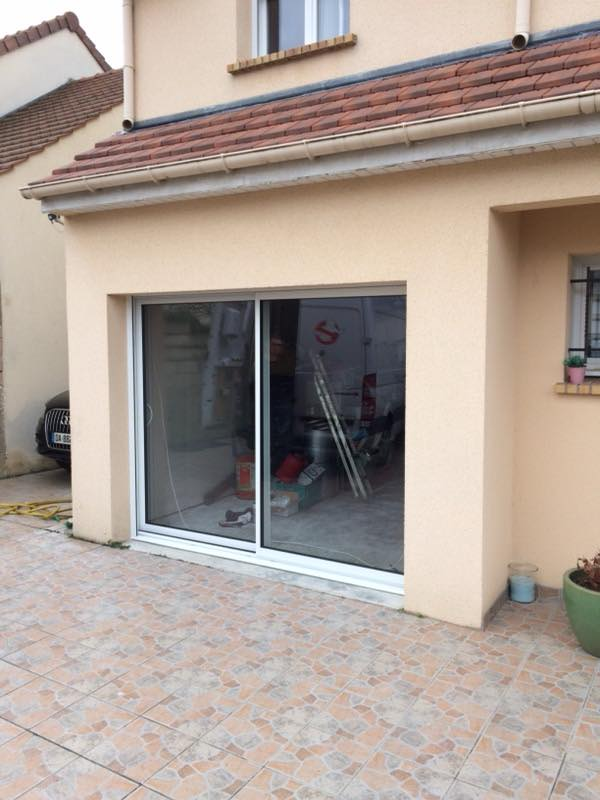 réalisation Porte fenêtre Easy Matik