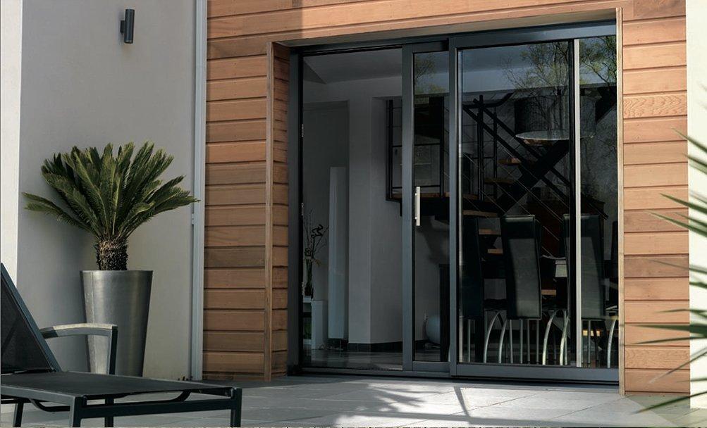 réalisation Porte fenêtre Iso Store