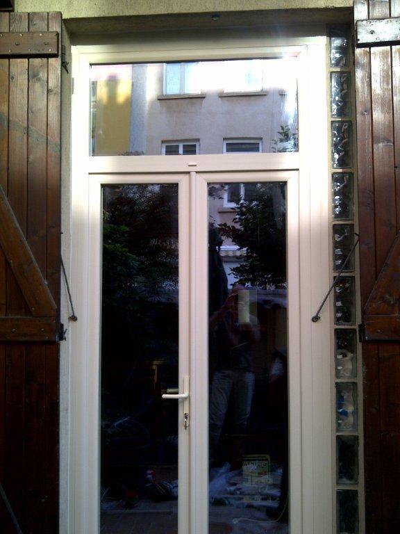 réalisation porte fenêtre Kirénov