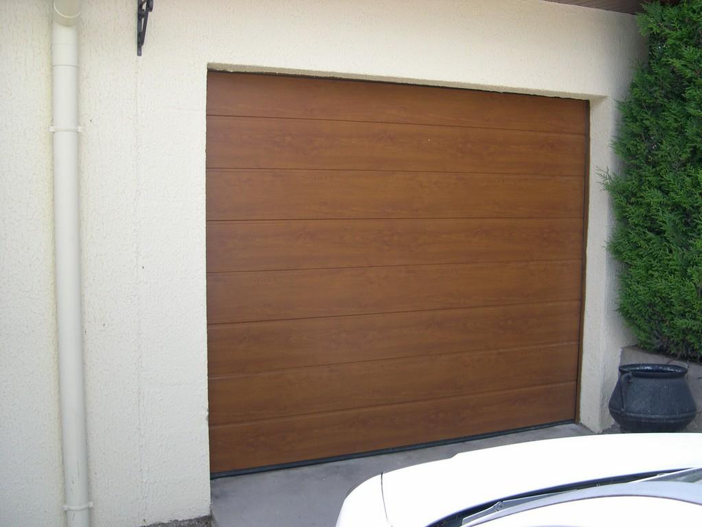 réalisation Porte de garage sectionnelle BERARDI PVC 3
