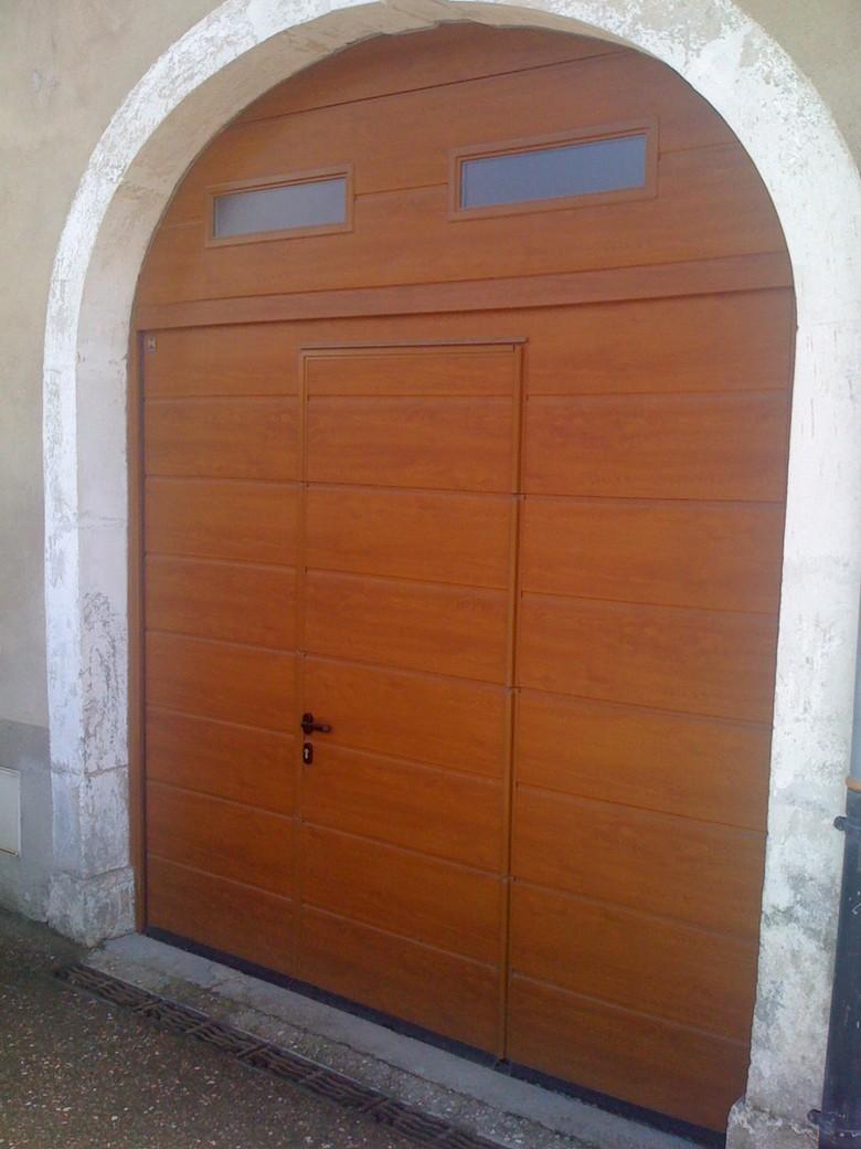 réalisation Porte de garage sectionnelle BERARDI PVC 4