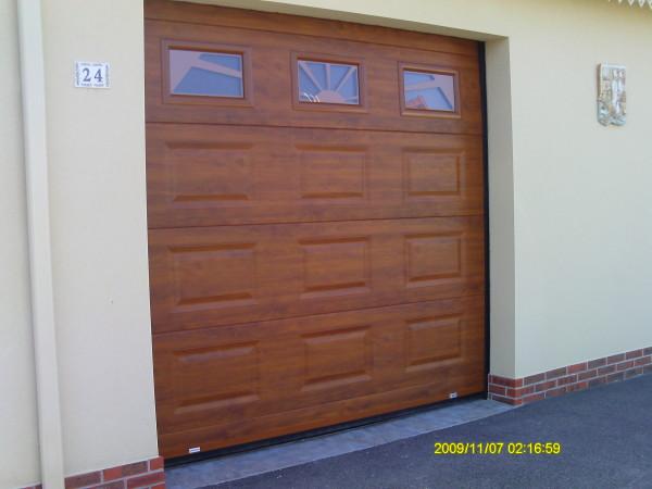 réalisation porte de garage Land Sécurité