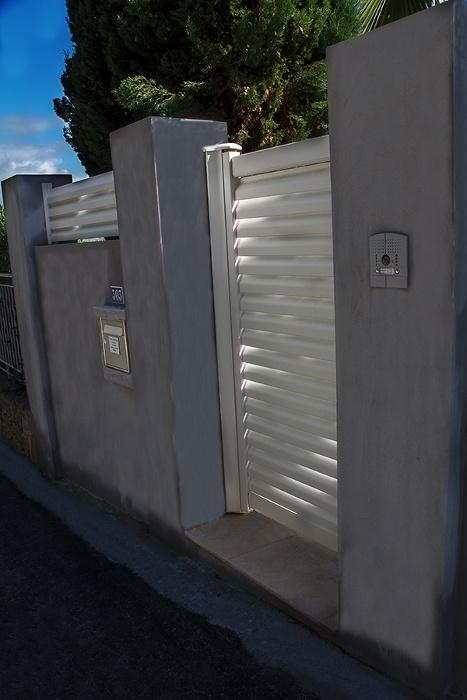 réalisation Portillon et clôture Ouvre Elec