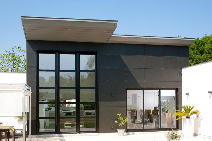 réalisation Fenêtres et porte alu Espace Rénovation