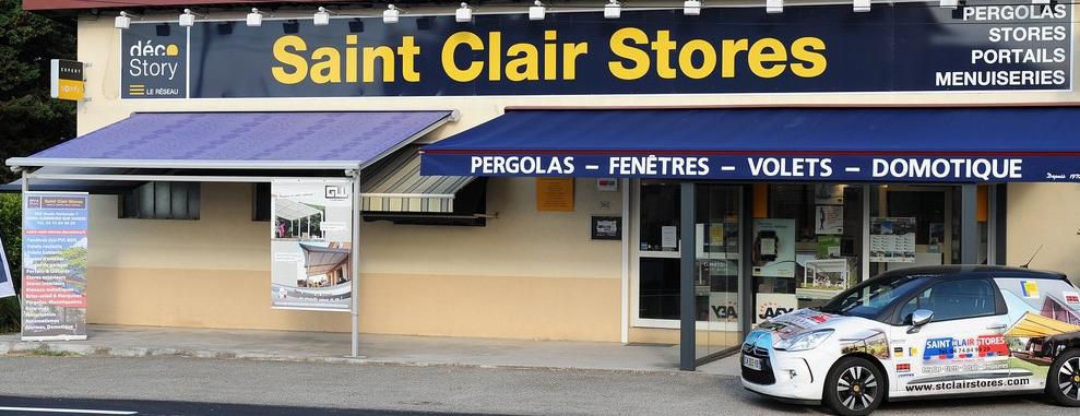 devanture Entreprise Saint Clair Stores