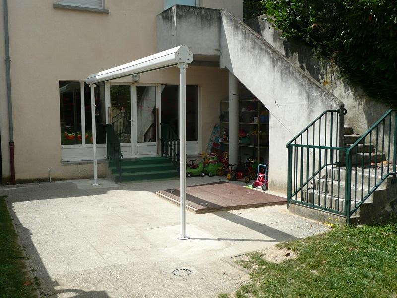 réalisation Store terrasse Stores Clément