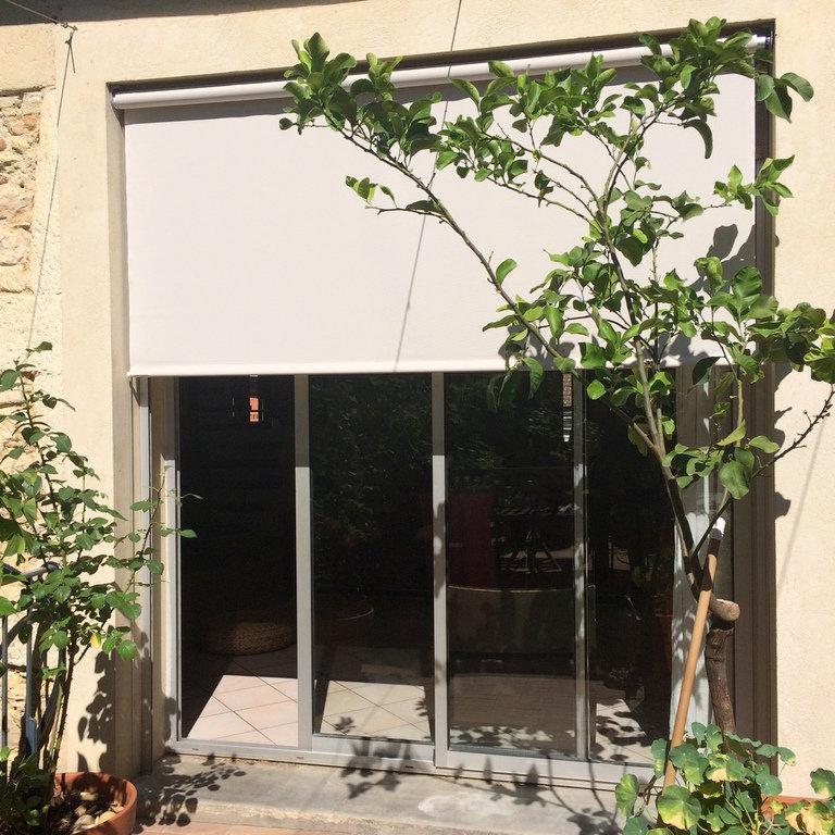 réalisation Store vertical 3