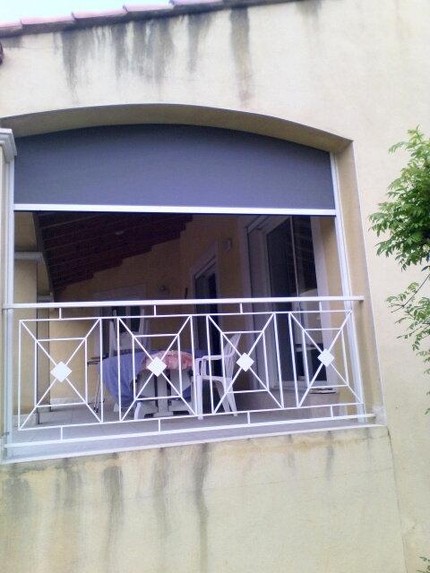 réalisation Store vertical