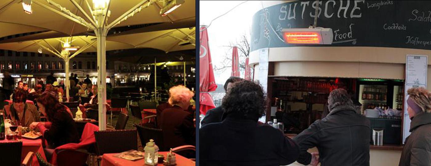 Chauffage de terrasse à Nantes 1