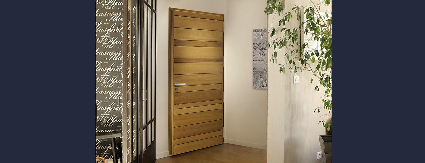 Portes entrée bois à Brive 3