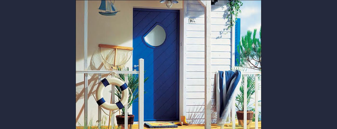 Portes entrée bois à Brive 4