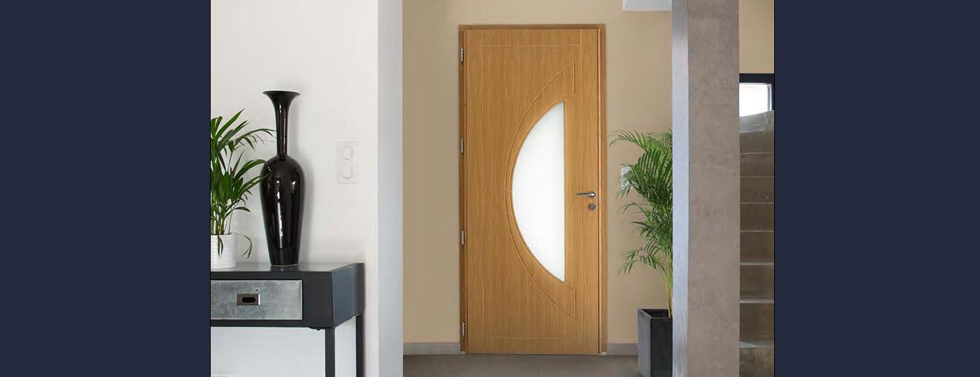 Portes entrée bois à Brive 5