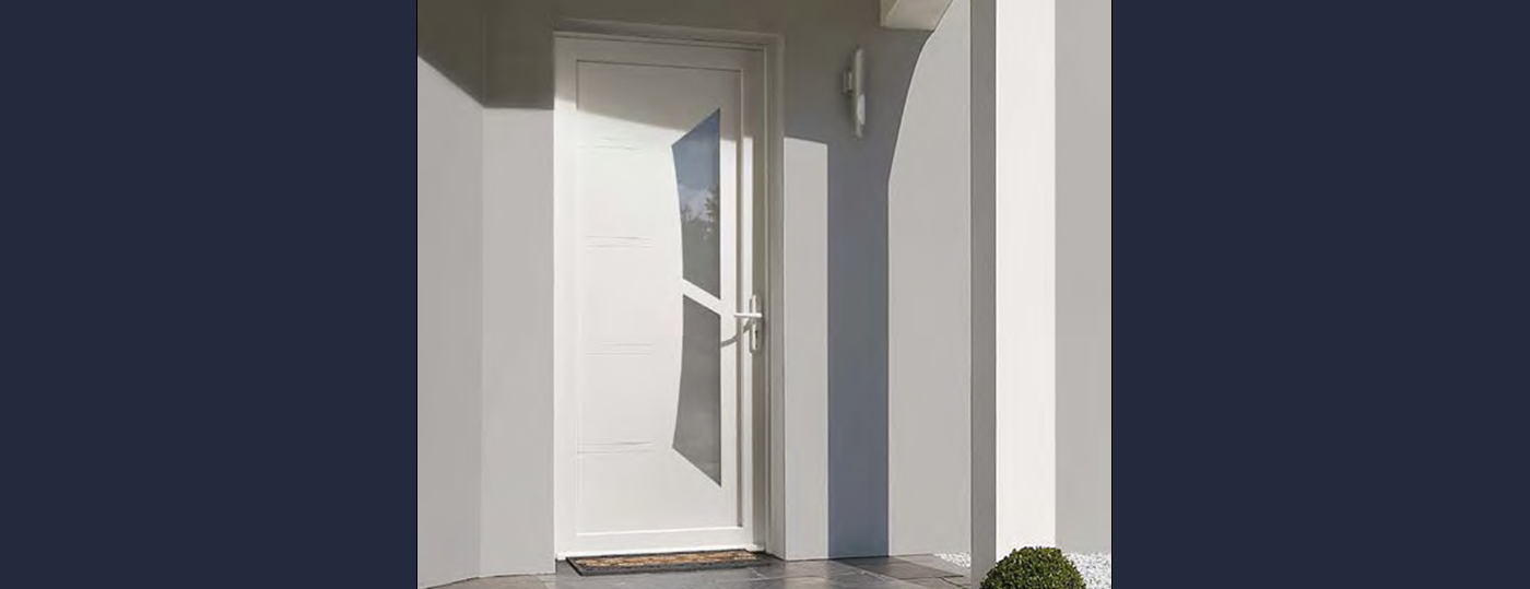 Portes entrée PVC à Coutances 1