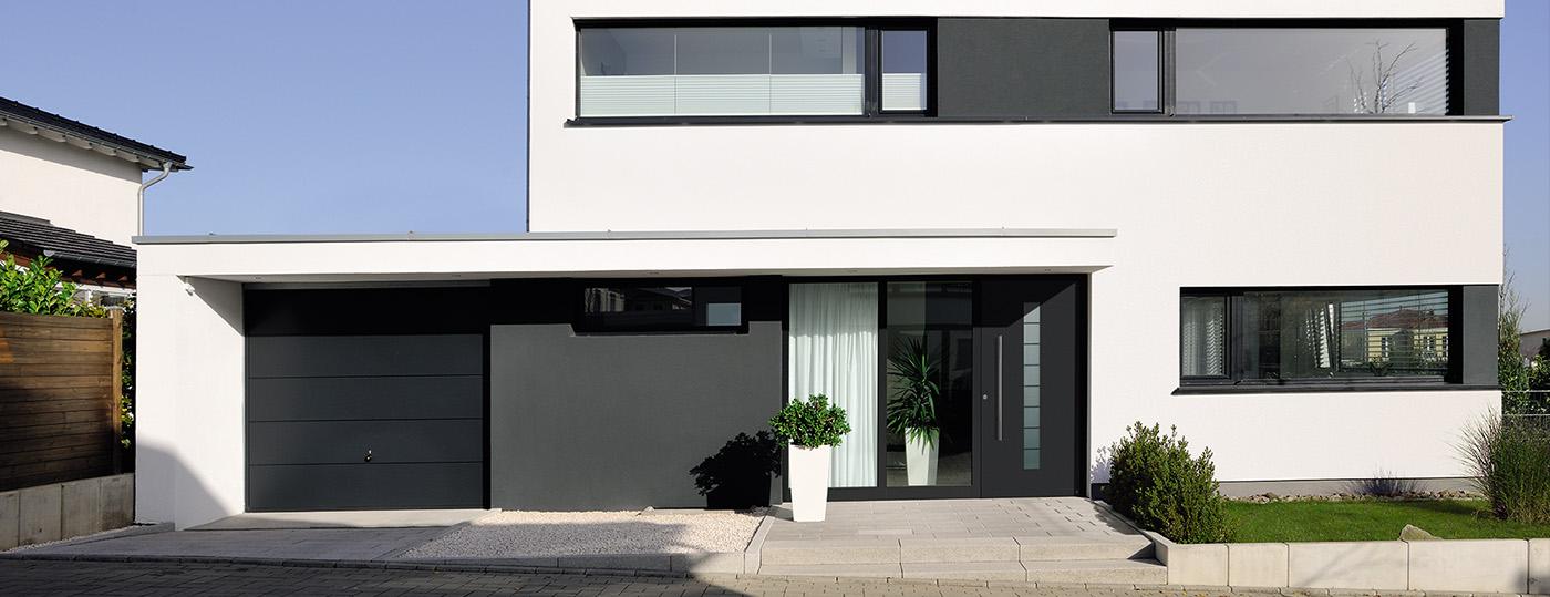 Portes de garage sectionnelles à La Rochelle 2