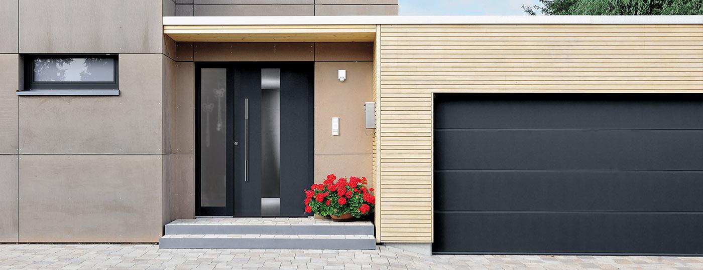 Portes de garage sectionnelles à La Rochelle 9